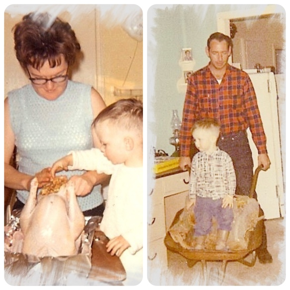 Collage 1967 with Mom & Dad